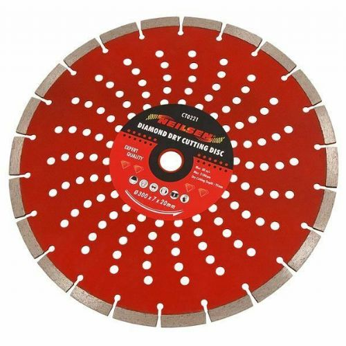 "12""/ 300Mm Diamond Dry Cutting Disc Angle Grinder Saw Cutter Blade Stone Masonry"